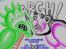 Play OnLine - Aaargh! (ZX Spectrum)