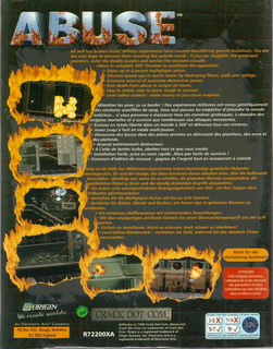 Abuse - Box scan - Back