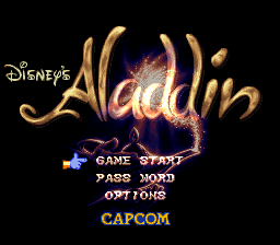 Play online Disney's Aladdin for SNES