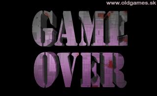 PC DOS, Game Over screen
