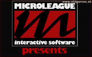 PC DOS, Microleague Logo (PC Conversion)
