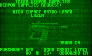 PC DOS, Intex Weapon Supplies