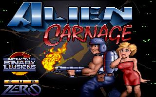 Title - Alien Carnage