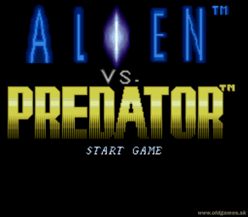 Play online Alien vs. Predator for SNES