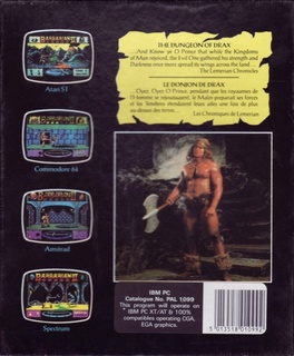 DOS - Back cover