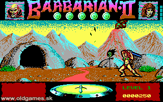 Barbarian II: The Dungeon of Drax - PC, Start as Princess...