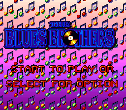 Play online Blues Brothers for SNES