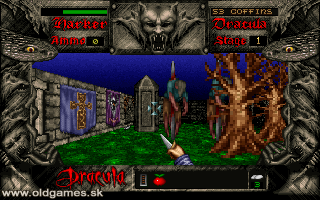 Bram Stoker's Dracula - PC DOS, Gameplay