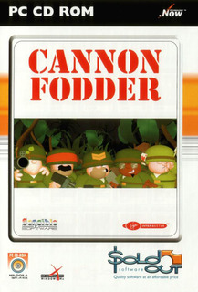 Cannon Fodder, SoldOut release - Box scan - Front
