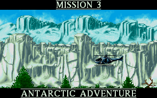 DOS, Mission 3 - Antarctic Adventure