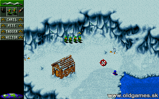 Cannon Fodder - PC DOS, Gameplay