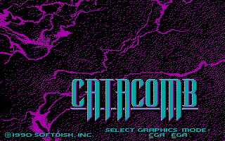 Play online Catacomb for PC DOS