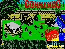 Play online Commando for ZX Spectrum