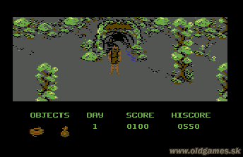 Dante's Inferno - C64, Entrance to Underground