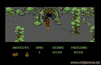 C64, Entrance to underground