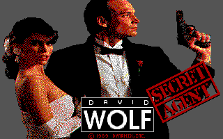 David Wolf: Secret Agent - Title