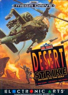 Desert Strike - Box scan - Front