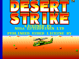 Play online Desert Strike for Sega Master System