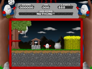 Dizzy 1 - Remake - PC Windows, Start game...