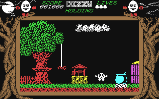 Dizzy: The Ultimate Cartoon Adventure (Dizzy 1) - Commodore 64, Start...