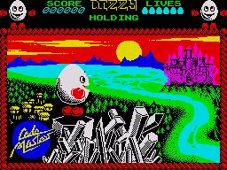 Play online - Dizzy 1 (ZX Spectrum)