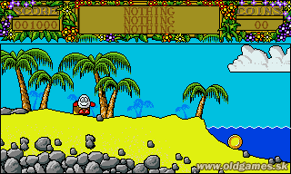 Treasure Island Dizzy (Dizzy 2) - Atari ST, Start Game...