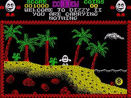 ZX Spectrum, Start game...