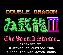 Play online - Double Dragon 3 (NES)
