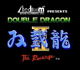 Play online - Double Dragon 2 (NES)