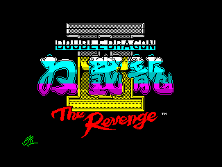 Play online - Double Dragon 2 (ZX Spectrum)