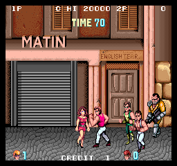 Arcade, Start