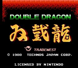 Play online - Double Dragon (NES)