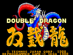 Play online - Double Dragon (Sega Master System)