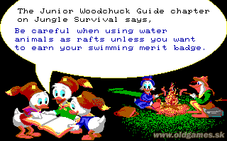 PC, Reading Junior Woodchuck Guide