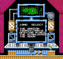 NES, Select mission