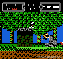 DuckTales - NES, Level 1 - The Amazon