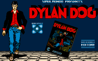 Dylan Dog: The Murderers - PC DOS, Title
