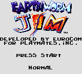 Play online - Earthworm Jim (Sega Game Gear)