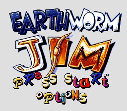 Play Earthworm Jim online for SNES