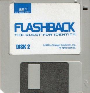 Flashback (US release) - Floppy disk