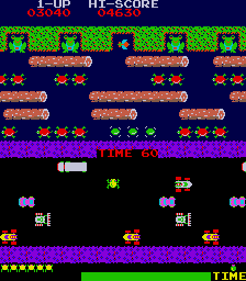 Frogger - Arcade, Gameplay