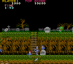 Ghosts 'n Goblins - Arcade, Gameplay