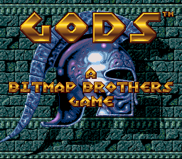 Play online Gods for SNES