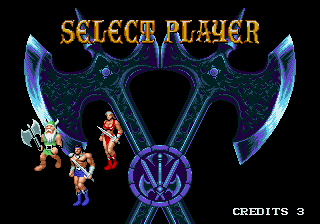 Genesis, Select Player