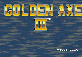 Mega Drive, Title