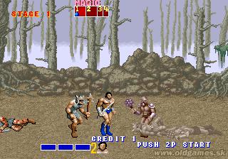 Arcade, Beginning - Ax Battler