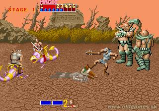 Arcade, Stage 1 Bosses