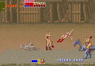 Arcade, Death