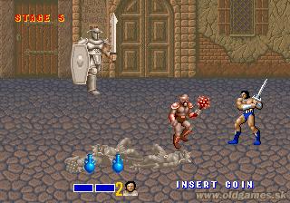 Arcade, White Knight