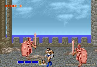 Arcade, Red Knights